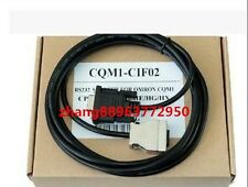 NEW IN BOX  Omron CQM1-CIF02 PLC Programming RS232 Cable 0JK1