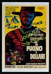 Film For A Fist By Dollari Sergio Leone Clint Eastwood Papuzza Poster PP4