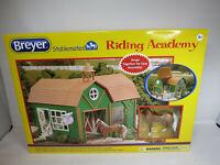 BREYER Stablemates Riding Academy Set With Palomino Quarter Horse-NIB