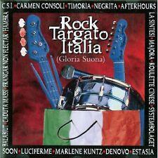 CD Rock Targato Italia gloria suona 731455713626