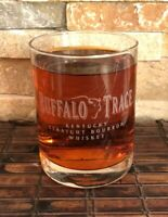 BUFFALO TRACE Kentucky Straight Bourbon Collectible Whiskey Glass