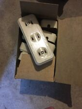 Leviton 323-I White Triple Outlet Adapter 15A-125V **LOT OF TEN**