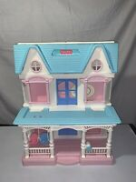 Vintage 1993 Fisher Price Loving Family Dream House 6364 Folding Dollhouse-CLEAN