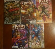 Monsters Unleashed 1-5 plus 4&5 variants