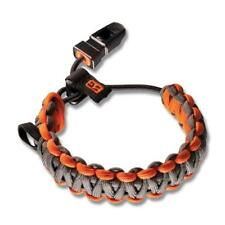Bear Grylls Gerber Survival Paracord Bracelet for Hiking and Camping grey color