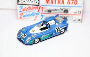 Solido No 14 Matra 670 Longue In Its Original Box - Nr Mint Vintage Original