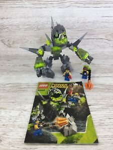 Lego Power Miners ~ Set 8962 ~ Crystal King ~ 99.8% Complete ~ (2)