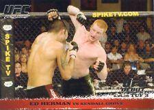2009 TOPPS UFC ROUND 1 ROOKIE RC DEBUT ED HERMAN #44