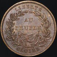 1830 | Paris Gloire Au Peuple Medal | Copper | Medals | KM Coins