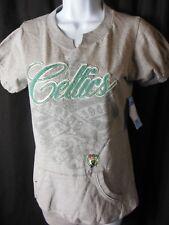 Boston Celtics Women's  Front Pocket Tee Shirt Small