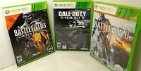 3 XBOX 360 GAMES Battlefield 3 Limited Edition/BATTLEFIELD 4/CALL OF DUTY GHOSTS