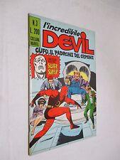 DEVIL n. 3 / Gufo il padrone del crimine - Corno 1970 Silver Surfer EDICOLA