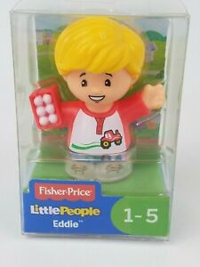 Fisher Price Little People Eddie figure