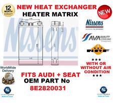 für 8E2820031 Fabrikneu Wärmetauscher Matrix OE-Qualität passend für Audi +