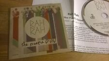 CD Indie Rah Rah - The Poet's Dead (10 Song) DEVIL DUCK cb / + Presskit