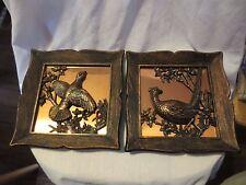 Vintage Coppercraft Guild Copper 3D Pheasant Picture Wall Hanging Decorative