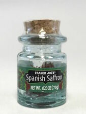 NEW Rare Trader Joe's Spanish Saffron Spice.020 oz lot 3 cooking cook seasoning