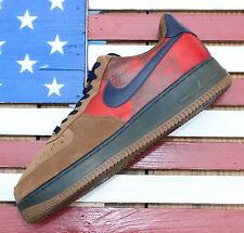 Nike Air Force 1 Low Vince Carter Basketball Brown vtg 2006 [315181-241] Sz 10.5