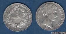 Ier Empire, 1804 – 1814 5 Francs Napoléon, Empereur AN 14 L Bayonne TTB TRES RAR