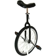 """Cyclists' Choice By-904A 24"""" Alloy Wheel Unicycle Black"""