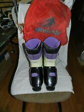 RRaichle 470 ski boots size 10 STD Italy Switzerland Purple & Black
