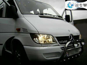 FITS TO VOLKSWAGEN LT35 BULL BAR CHROME AXLE NUDGE A-BAR 60mm 1996-2006 OFFER