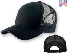 d7f02a924b5f7 ATLANTIS sombrero RAPERO DESTRUIDO sombreros gorra TRUCKER gorra NEGRO