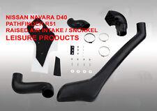 Nissan navara D40/pathfinder R51 2004-2010 tuba/raised admission VC34NI0101