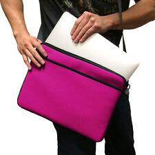 """Pink 13"""" 13.3"""" Messenger Shoulder Case Bag for Apple Macbook Pro & Macbook Air"""