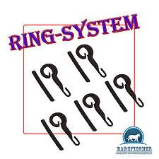 1 Päckchen RING System mit Gummischlauch (5 Stück), NEU