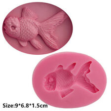 Big Goldfish Silicone Cake Mould Fondant Sugar Craft Chocolate Decorating Tool