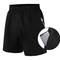 Mens Athletic Shorts with Pockets Running Gym Basketball Football Casual Bottoms