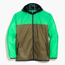New Balance for J.Crew Men's Windcheater Lightweight Hood Jacket NEW XL