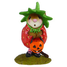 STRAWBERRY SWEETIE Wee Forest Folk, WFF# M-542 - Retired Halloween Mouse