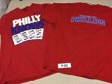 Philadelphia Phillies (Lot of 2) Shirts Adult Sizes X-Large    #P-82