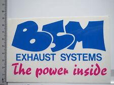 Aufkleber Sticker BSM - Exhaust-System (S1304)
