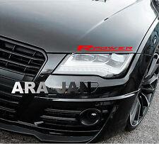 Racing POWER Sport Vinyl Decal Sticker sport car hood racing emblem logo RED