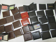 NEW TRADE JOB LOT WHOLESALE 12 X MENS WALLETS BROWN BLACK MIXED Free Delivery