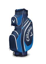 Nuovo di Zecca 2017 Callaway Golf X SERIE Cart/Trolley Borsa 14 VIE Navy Blu/Bianco