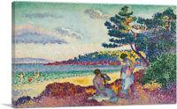 ARTCANVAS Baigneuses 1907 Canvas Art Print by Henri Edmond Cross