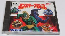 Monster Pro Wrestling PC Engine HuCard Duo-RX GT LT * Brand NEW Sealed *