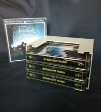 Starlight Piano Reader's Digest Audio Cassette Tape Set of 3 With Program Notes
