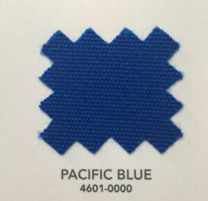 """8 Yards Sunbrella Pacific Blue #6001 60"""" Wide Top Marine and Outdoor Fabric"""