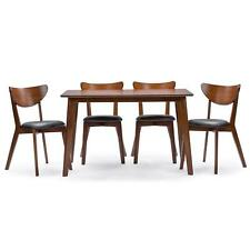 Mid-Century Dining Set Modern Kitchen Table Chairs 5 Piece Retro Mod SALE!