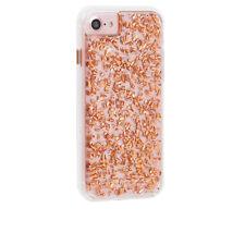 Case-Mate Karat Fashion Metallic Tough Rear Case for Apple iPhone 8 / 7/6/6s Rose Gold