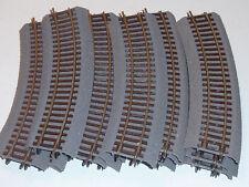 5 Rails courbes Ballaste voie souple Roco R2 Line Code 83 ref 42522