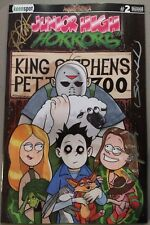 Junior High Horrors #2 Arkham Comix Variant. Louis Small Jr. Only 100 Printed!
