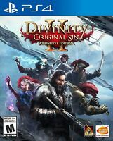 PLAYSTATION 4 PS4 - DIVINITY ORIGINAL SIN 2: DEFINITIVE EDITION BRAND NEW SEALED