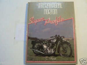 NORTON INTERNATIONAL SUPER PROFILE HAYNES C.J. AYTON  1985