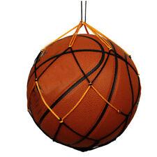 5Pcs Nylon Mesh Net Bag Ball Rims Volleyball Basketball Football Soccer Carrier